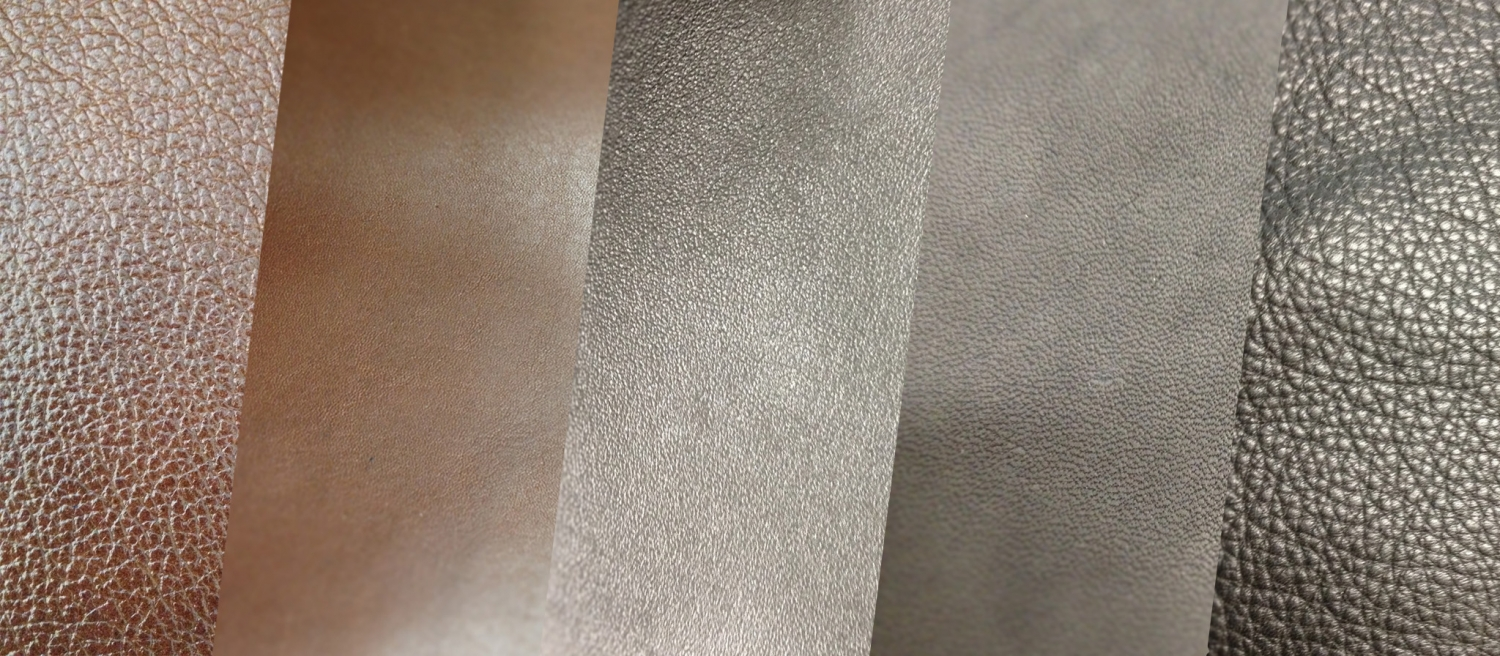 Production and marketing of finished leathers